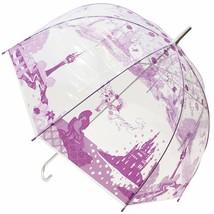 "Disney  Rapunzel Vinyl Umbrella above the tower 60 cm 23.6"" purple parasol - $54.45"