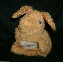VINTAGE 1981 FISHER PRICE 163 HOPPIE BUNNY HAND PUPPET STUFFED ANIMAL PL... - $18.70