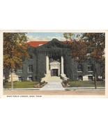 Public Library Waco Texas 1917 linen postcard - £4.55 GBP
