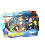 New FINDING DORY 14-Pk CHARACTER Figure COLLECTION Plant Hank TAD Sandy ... - $31.75