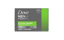 Dove Men+Care Body And Face Bar Extra Fresh 2.6 Oz 1/2/5-PACK SAME-DAY Ship - $0.00