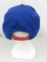 Vans Off The Wall Mens Snapback hat Cap Stitched Blue Red Flat Bill - $20.00