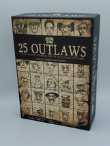 25 Outlaws Card Game Old West Poker with Outlaw Rules COMPLETE - $7.91