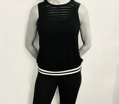 Hard Tail easy racer tank mesh with white stripes - $58.00