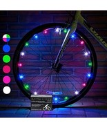 LED Bike Wheel Lights with Batteries Visible adorno luces bicicleta con... - $20.52