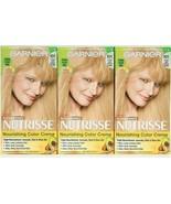 (3) Garnier Nutrisse 101 Extra Light Buttery Blonde Permanent Nourish Co... - $25.73