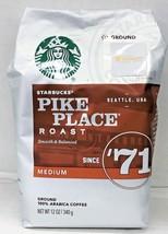 Starbucks Pike Place Roast Ground Coffee 12 oz - $10.46