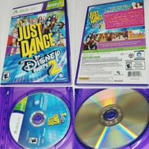 Just Dance: Disney Party 2 (Microsoft Xbox 360, 2015) - no Manual - tested - $13.37