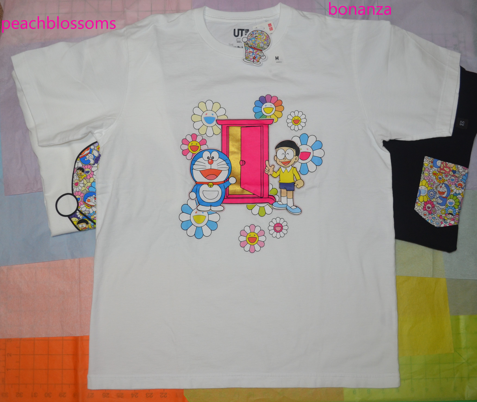 52c2a20b Uniqlo Doraemon x Takashi Murakami Short Sleeve Graphic T-shirt Door Size M  BNWT