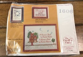 Creative Circle 1606 Thank You For Not Smoking Counted Cross Stitch Kit - $10.89
