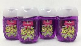 Bath & Body Works PocketBac Antibacterial Hand Gel X4 MERRY BERRY KISS *... - $9.60