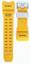 Casio G-Shock Mudmaster GWG-1000 Watch Band Strap Yellow Japan Import - $71.28