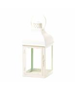 Gable Large White Lantern - $30.00