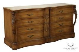 1930's French Louis XV Style Pickled Mahogany Dresser - $965.00