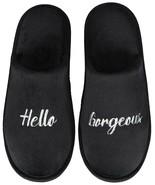 Women's Slippers Jenni Women's Hello Gorgeous Slippers Sz L (9/10) Black - $14.99