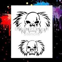 Clown Set 02  Airbrush Stencil,Template - $9.49