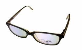 Coach Womens Ophthalmic Eyeglass Frame Soft Plastic Rectangle Green Page... - $44.99