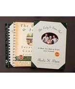2 Book Lot Paula Dean Lady Sons Savannah Country Cookbook Collection Sou... - $18.87