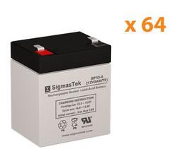 Apc SURT15KRMXLT Ups Replacement Battery Set By SigmasTek- 12v 5.5AH - $1,113.24