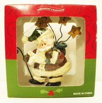 Whimsical Folk Art Santa Claus Ornament [Brand New] - $9.15