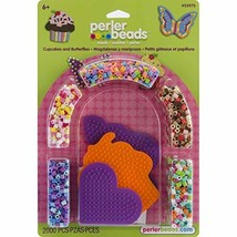 Perler Beads Cupcakes and Butterflies Fused Bead Kit Limited Edition - $31.02