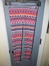 Tucker + Tate Multi Colored Aztec Print Leggings Size 8 Girl's EUC HTF - $18.96