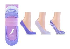 Calcetines invisibles bailarina ballet lila 3 pares - $8.94