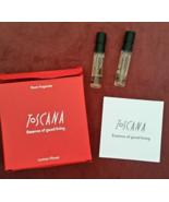 2 Toscana Essence Of Good Living By Lorenzo Villoresi Room Fragrance Lot... - $24.99