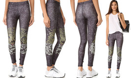 Terez Women's Performance Leggings, Crystal Leopard-767