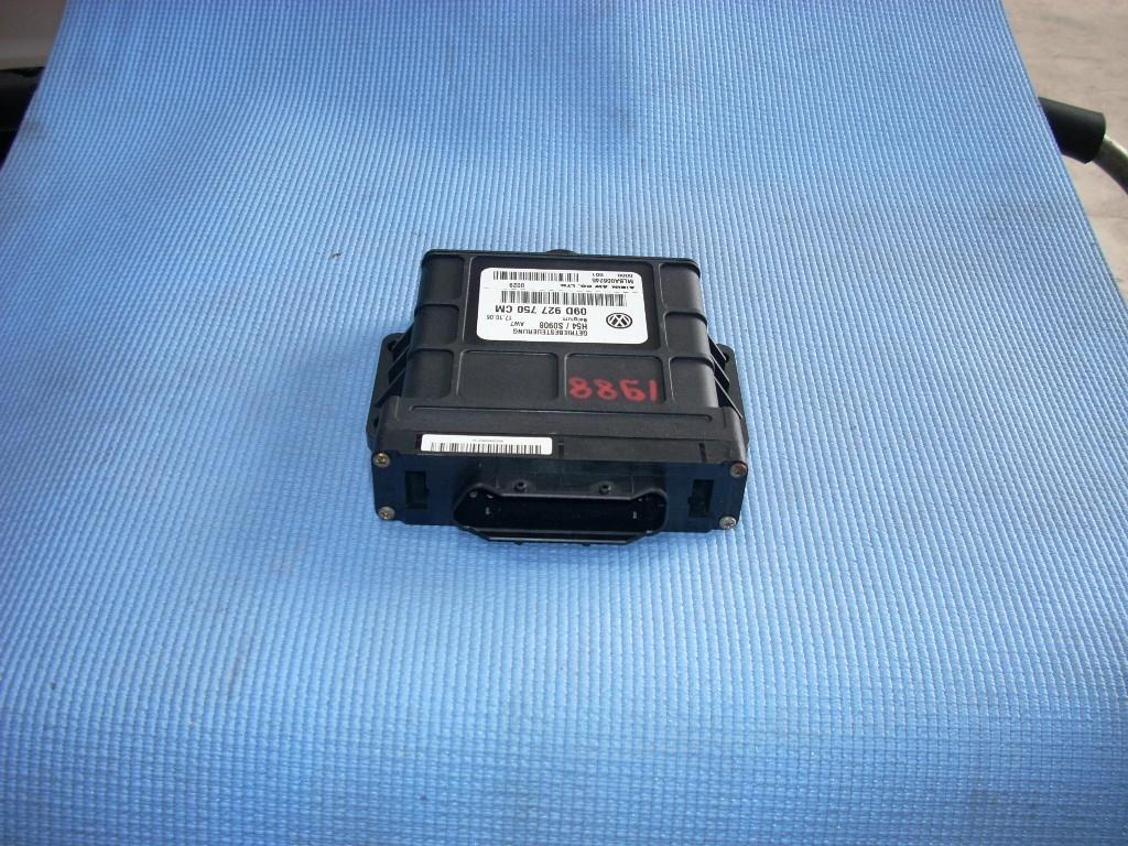 2006 PORSCHE CAYENNE TRANSMISSION CONTROL MODULE 09D927750CM OEM