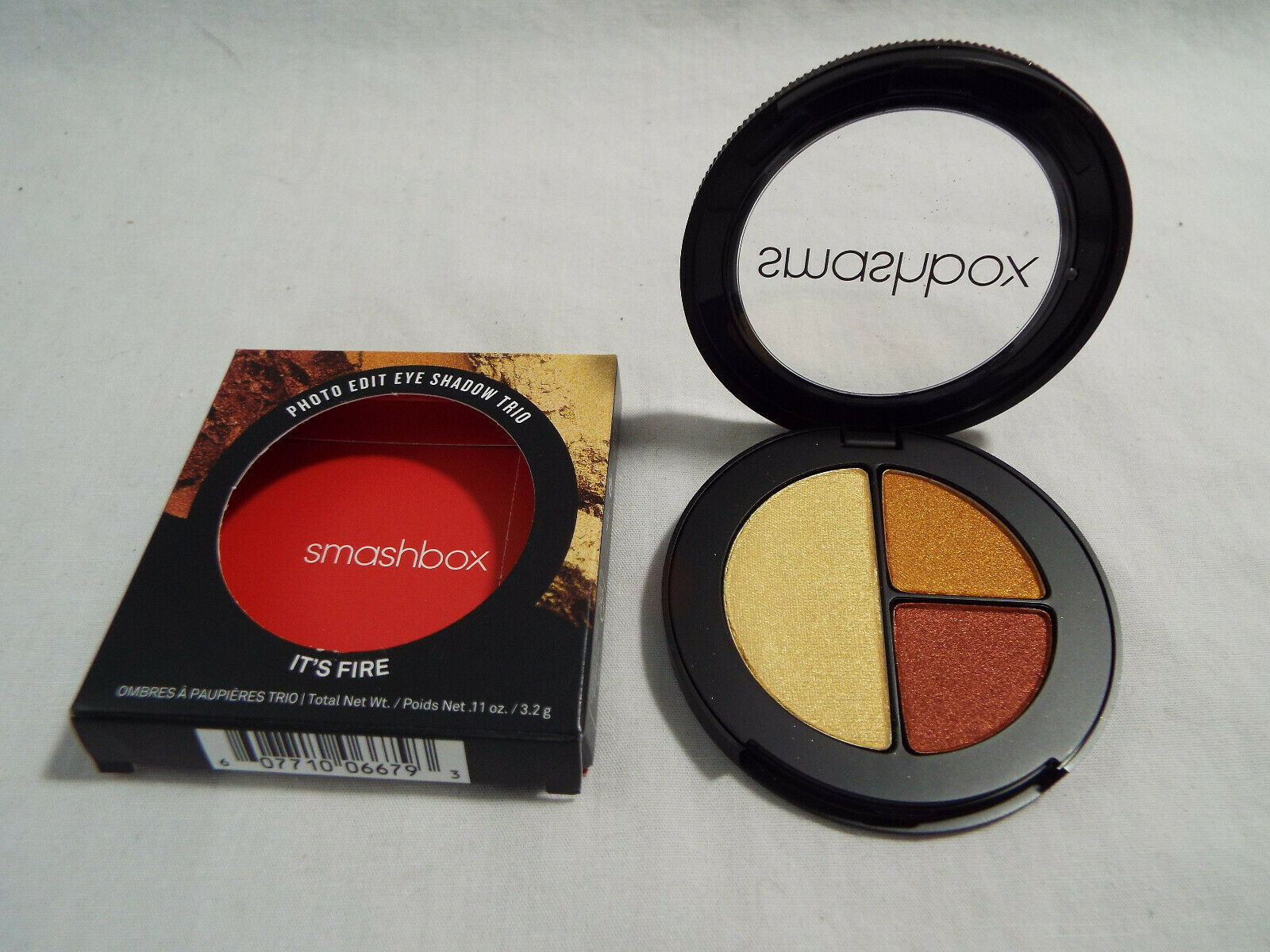 Primary image for Smashbox Photo Edit Eyeshadow Trio in It's Fire .11 oz 3.2g