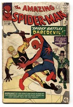 AMAZING SPIDER-MAN #16 comic book-daredevil-ditko-marvel silver age - $200.06