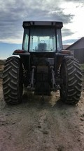 1989 Massey Ferguson 3650 With Loader For Sale In Minden City, Michigan 48456 image 3