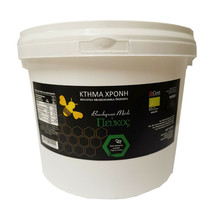 ORGANIC Pine Honey 5 Kg-176.37oz from Florina Greek Excellent taste NEW BIO - $120.68