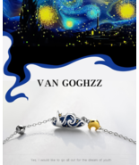 Van Gogh's Necklace - 100% 925 Sterling Silver - Jewelry for Women - $59.99