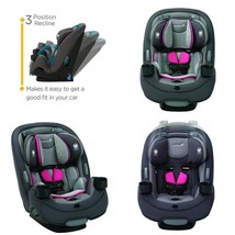 Safety 1St Grow And Go 3-In-1 Convertible Car Seat, Everest Pink - $199.64
