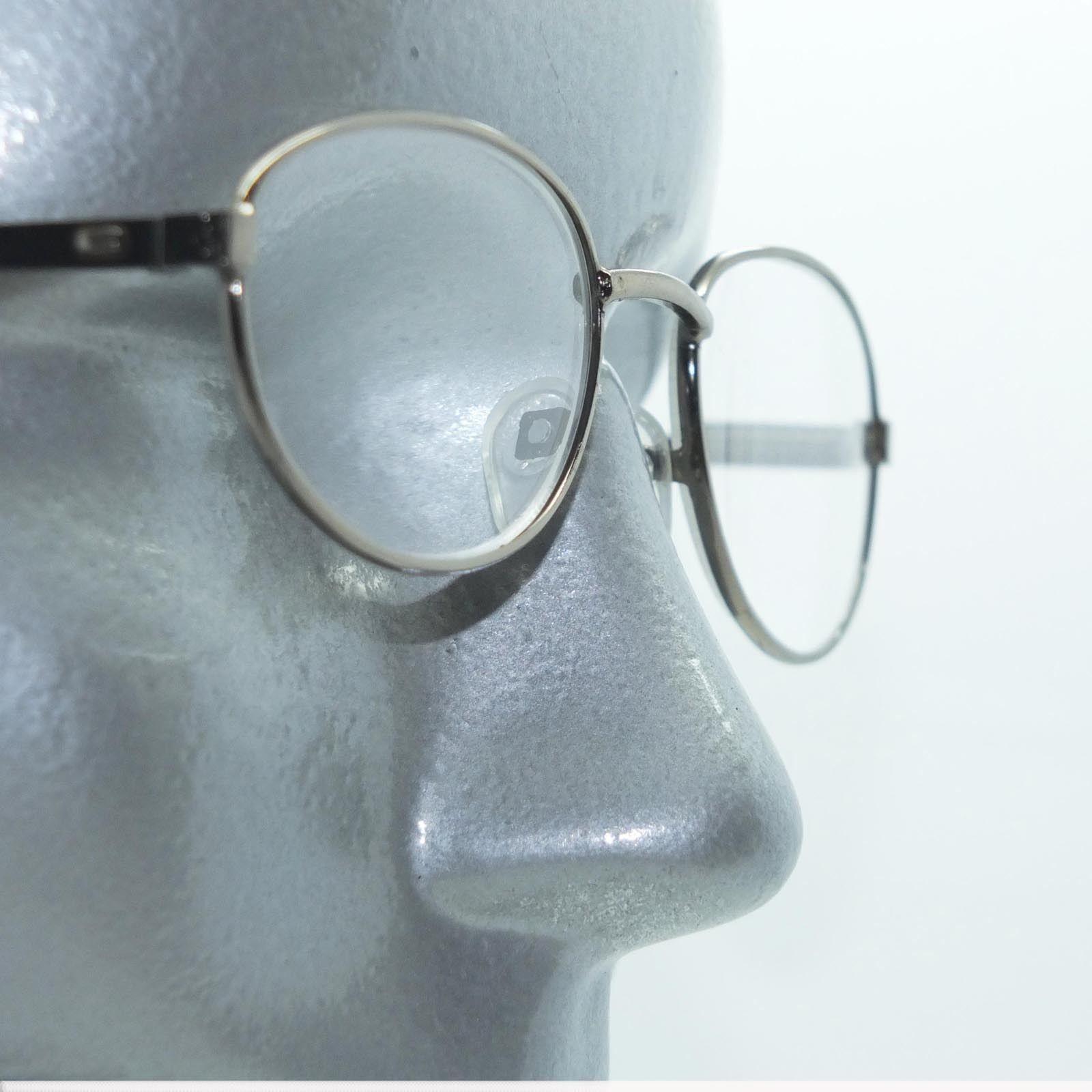 15c8d42ca6 S l1600. S l1600. Reading Glasses Shiny Gray Metal Petite Oval Frame +1.50  Lens. Reading Glasses ...