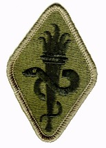 Army Medical School & Center Patch SUBDUED:wv11-2 - $2.85