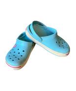 Crocs Kids Crocband II Clogs Childrens Size 12 C 13  Light Blue - $13.96