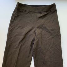 Giorgio Armani Women's Size 40 / Small Brown 100% Wool Dress Pant Trousers Italy image 6