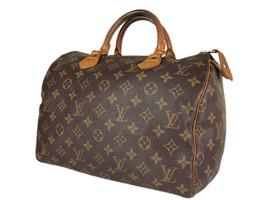 LOUIS VUITTON Speedy 30 Monogram Canvas Leather Hand Bag LH3819 - $489.00