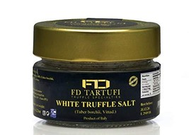 FD TARTUFI White Truffle Salt 120g 4.23oz, Coarse and Fine Natural Sea S... - $28.54