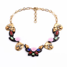Souvenirs Necklace Hawaiian Retro Fashion Flower Pendant Ladies Necklace - $21.01