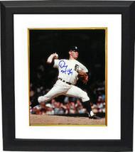 Denny McLain signed Detroit Tigers 8x10 Photo Custom Framed (blue sig) - $69.00