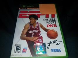 ESPN College Hoops 2K5 (Microsoft Xbox, 2004 NTSC) - $8.42