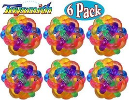 Toysmith Light-Up Flashing Orbit Ball Bulk Bundle Set - 6 Pack - $24.50
