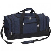 Carry On Duffel Bag Luggage Gear Travel Gym Sports Camping Tote Pockets ... - $42.70