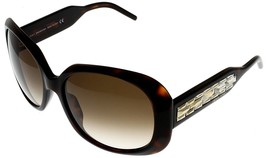 Swarovski Sunglasses Yellow Gold Swarovski Women Rectangular AVA SW 8 52F - $177.21