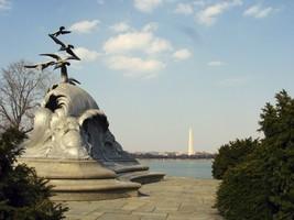 Navy-Merchant Marine Memorial George Washington Memorial Parkway DC Photo Print - $8.81+