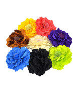 Wholesale Lady Daisy Flower Brooch Clip Pin Bridal Party Hair Holder Hea... - $5.95